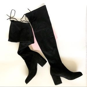 1cea2963d72 Steve Madden Shoes - NWOT Steve Madden OTK Boot Black Slayer 9